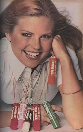 Memories of my 70s childhood through Pinterest: Bonne Belle Lip Smackers on a rope