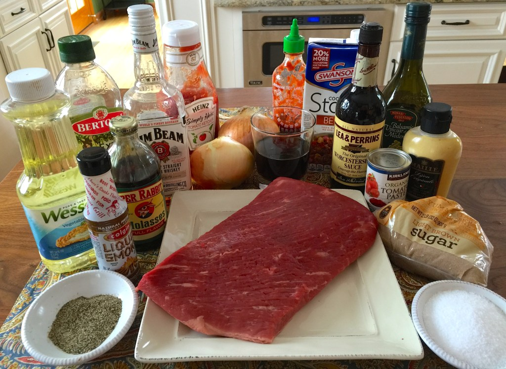 Crockpot BBQ Beef Brisket: ingredients