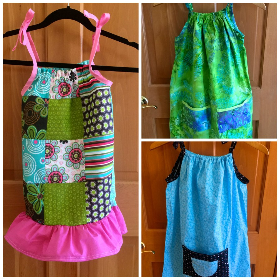 Pillowcase Dresses for Dress a Girl Around the World : Dress Samples