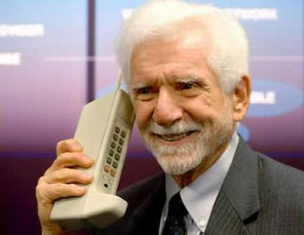 Cellphone and other technological addictions: Martin Cooper, the inventor of the cellphone