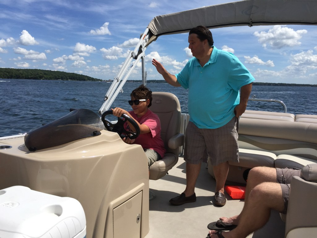 As summer comes to a close: Spence at the wheel