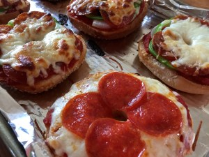 Personalized Pizza Bagels