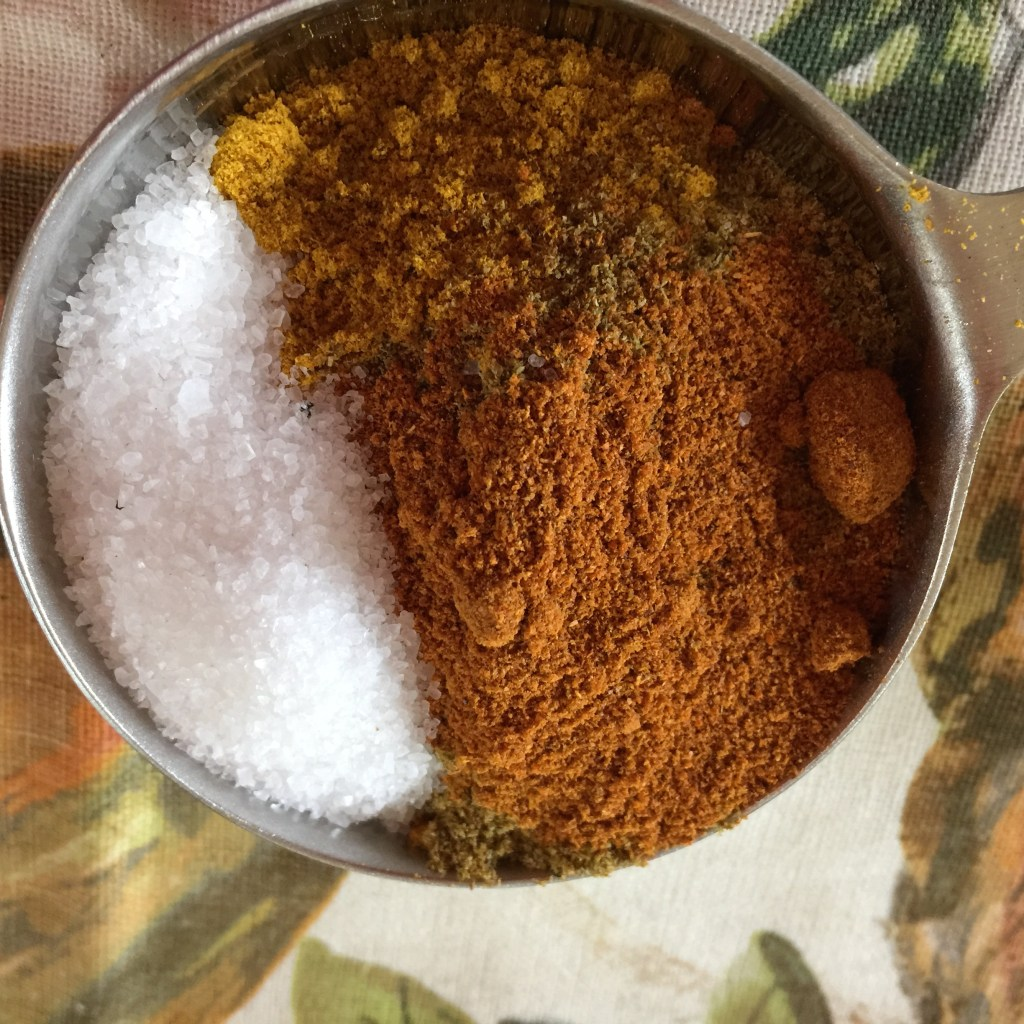 Warm and Spicy Chicken Curry in a Hurry: Spice mix