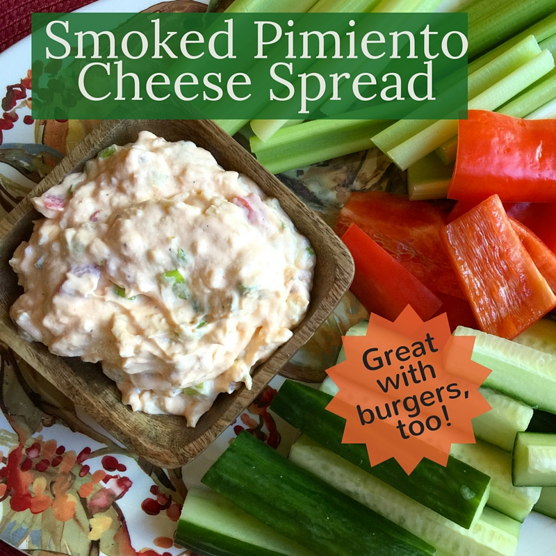 Smoked Pimiento Cheese Spread