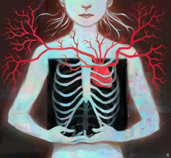 Matsuyama  s Divine Love by ken wong 600x552 Artwork by Ken Wong