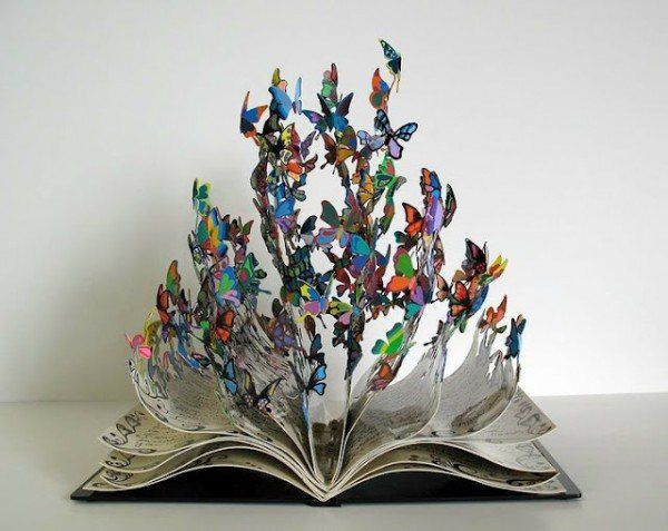 bookoflife 600x477 Unbelievable Metal Sculptures by David Kracov