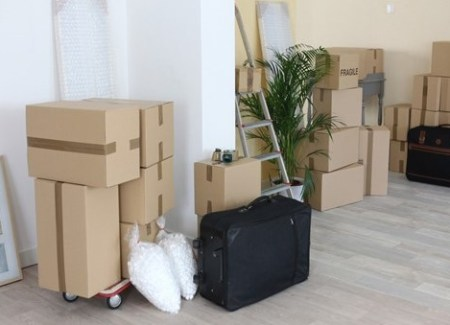 many boxes in room