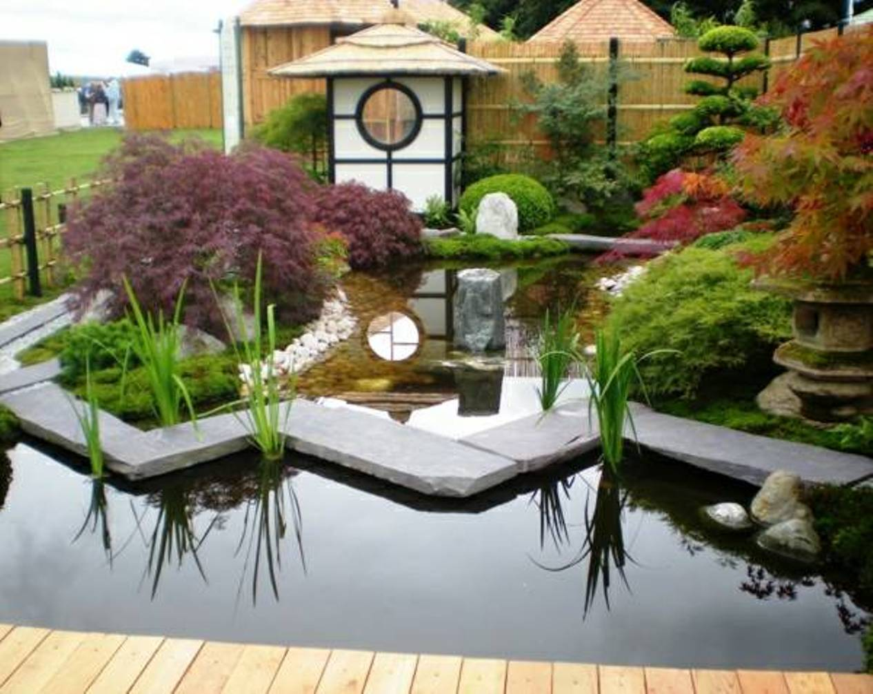 Japanese Pond Garden Design