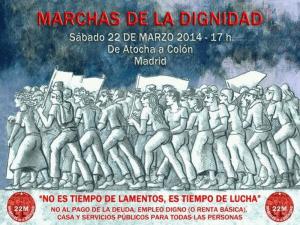 Marchas de la Dignidad | 22 de marzo de 2014 | Madrid