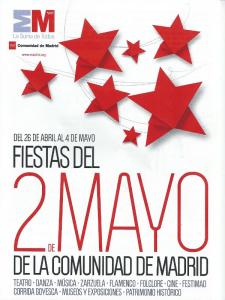 Fiestas del 2 de mayo 2014 | Comunidad de Madrid | Del 26 de abril al 4 de mayo de 2014