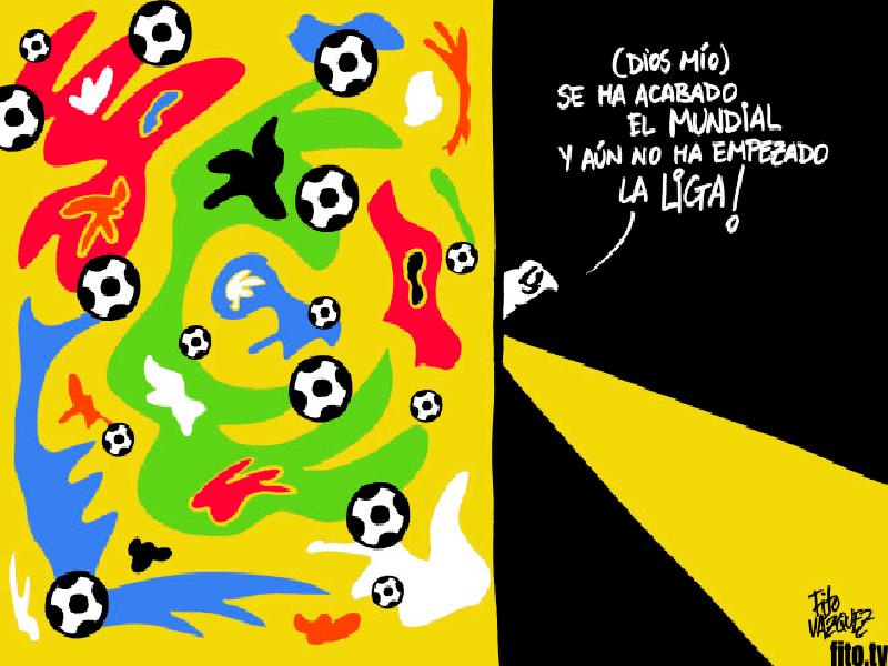 Síndrome de Abstinencia Futbolera | Con la inestimable colaboración de Matisse (no, no juega en la selección francesa de fútbol) | © Fito Vázquez 2014
