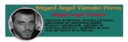 Perfil colaboradores PqHdM | Miguel Ángel Vicente Pérez | Miguel Angel Vicente