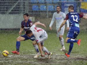 Atlético de Madrid se impuso al Éibar (1-3) bajo una lluvia torrencial en la jornada 21ª de Liga BBVA 14-15 (31-01-2015)