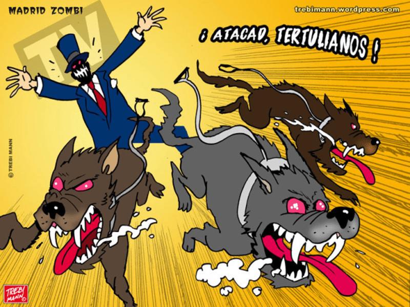 MZ 2015-08 | ¡Atacad tertulianos! | © Trebi Mann 2015