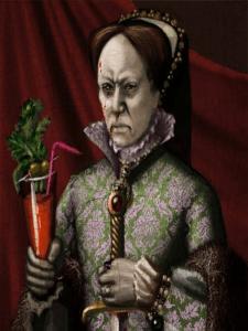 María Tudor Reina de Inglaterra e Irlanda (María sangrienta) da nombre al cóctel 'Bloody Mary'