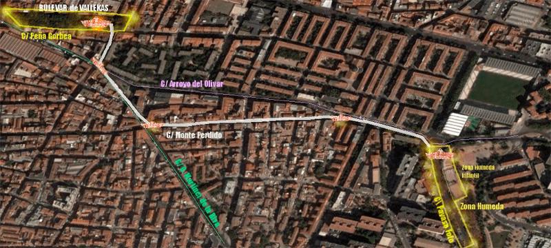 Batalla Naval de Vallekas 2015 | 'Mójate por Alfon Libertad' | Domingo 19 de julio de 2015 | Puente de Vallecas - Madrid | Cofradía Marinera de Vallekas | Recorrido