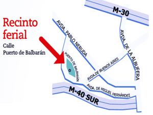 Fiestas del Carmen 2015 | Del 16 al 19 de julio de 2015 | Puente de Vallecas | Madrid | Cartel | Plano situación Recinto Ferial