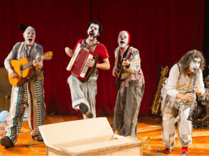 'Rhum' de Rhum y Cía en el Teatro Circo Price de Madrid   19 y 20 de septiembre de 2015   Payasos músicos