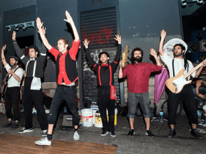Swingdigentes | Mejor actuación musical Tapapiés 2015 por votación popular