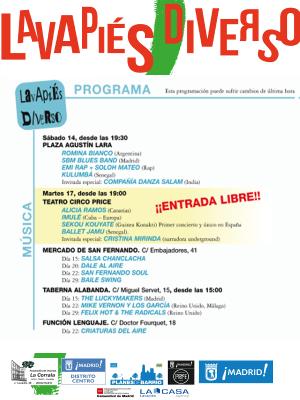 Lavapiés Diverso 2015 | Música programa