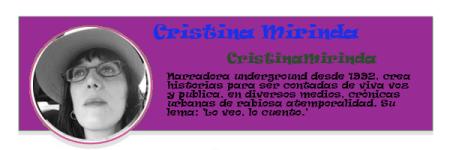 Perfil colaboradores PqHdM   Cristina Mirinda   CristinaMirinda