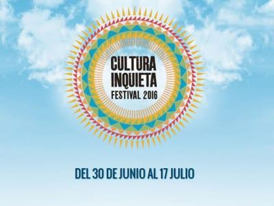 Festival Cultura Inquieta 2016   Getafe - Madrid   Del 30/06 al 17/07 de 2016