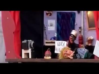 Fotograma del vídeo 'La bruja y don Cristobal' de Títeres desde Abajo