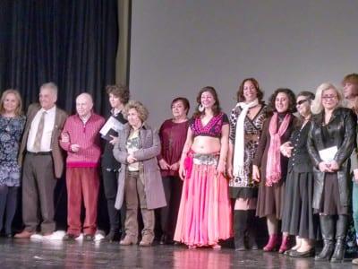 Festival Internacional de Poesía y Arte Grito de Mujer 2016: Flores del Desierto   Madrid   Del 2 al 16 de marzo de 2016   Gala de apertura
