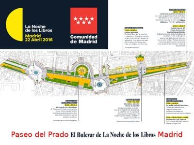 La Noche de los Libros 2016   Comunidad de Madrid   Viernes 22 de abril de 2016   El Bulevar de La Noche de los Libros