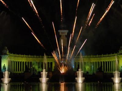 Fiestas de San Isidro 2016 | Madrid | Parque de El Retiro | Espectáculos piromusicales | 14 y 15/05/2016
