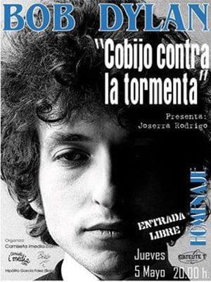 Homenaje a Bob Dylan Bilbao   'Cobijo contra la tormenta'   5 de mayo de 2016   Sala Satélite T   Camiseta imedia - 'Bolo' García