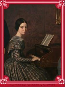 'La familia de Jorge Flaquer' (detalle)   1842-1845   Joaquín Espalter   Museo Nacional del Romanticismo   Madrid - España