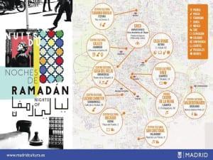 'Noches de Ramadán 2016' | Madrid | Del 21 de junio al 5 de julio de 2016 | Plano eventos