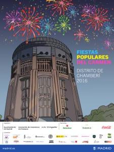 Fiestas Populares del Carmen 2016 | Chamberí | Madrid | 8 al 17 de julio de 2016 | Cartel
