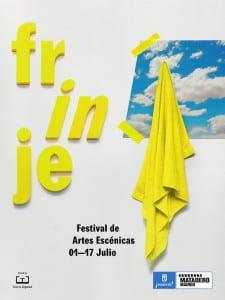 Frinje 16 | Festival de Artes Escénicas | Del 1 al 17 de julio de 2016 | Matadero Madrid | Cartel Cielo