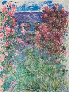 'Hortus Conclusus' | Museo Thyssen-Bornemisza | Madrid | 28/06-02/10/2016 | 'La casa entre las rosas' ('The house among the roses') | 1925 | Claude Monet