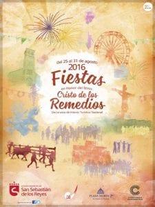 Fiestas en honor del Santísimo Cristo de los Remedios 2016   San Sebastián de los Reyes   Comunidad de Madrid   Cartel