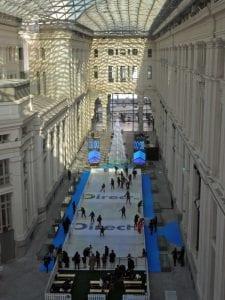 Galería de Cristal   Palacio de Cibeles   Madrid   Pista de hielo   Diciembre 2014
