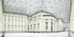 Galería de Cristal   Palacio de Cibeles   Madrid   Vista general