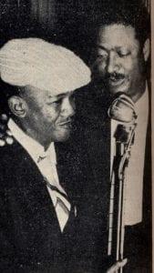 En esto llegó Fidel, se acabó la diversión   Benny Moré y Rolando Laserie en el Ali-Bar   La Habana - Cuba   1958