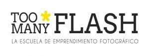 4º Día del Orgullo Fotográfico 'Too Many Flash'   Sábado 17 de diciembre de 2016   Chamberí - Madrid   Logo TMF