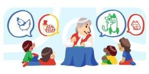 Gloria Fuertes' 99th birthday | Google Doodle | 28/07/2016