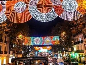 Naviluz | Bus de la Navidad 2016-2017 | Un autobús lleno de ilusión | Madrid en Navidad | Calle de Velázquez