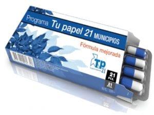 Pajaritas azules | Programa 'Tu papel 21 municipios' | ASPAPEL