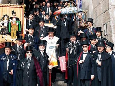 Carnaval de Madrid 2016   El Entierro de la Sardina   10/02/2016   Alegre Cofradía del Entierro de la Sardina   Ayuntamiento  de Madrid