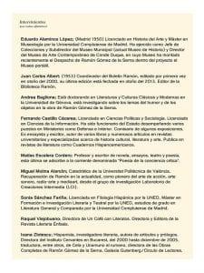 Encuentro con 'Ramón vive hoy' | En torno a Ramón Gómez de la Serna | Ayuntamiento de Alcorcón - Un Café con Literatos | CC Viñagrande | Alcorcón (Comunidad de Madrid) | 09/03/2017 | Participantes