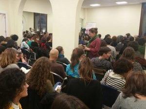 Espacio de Encuentro Feminista | Ribera de Curtidores | El Rastro | Distrito Centro | Madrid | Marcela Lagarde | Día Internacional de las Mujeres