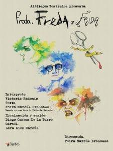 'Froda, Freda y Frida (siempre es por papá)' de Fedra Marcús | Cartel Lara Díez Marcús