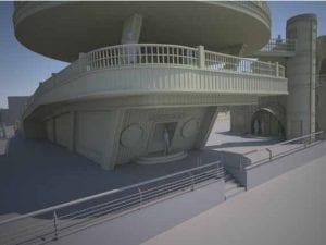 MAR - Madrid Arte uRbano | Proyecto Museo de Arte Urbano | Distrito Puente de Vallecas | Madrid | El mirador como estructura