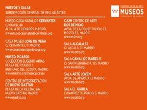 Día y Noche de los Museos 2017   Comunidad de Madrid   Espacios para el Arte   Museos Comunidad de Madrid